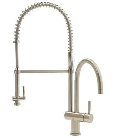 10 Easy Pieces: Commercial-Style Kitchen Faucets - Remodelista