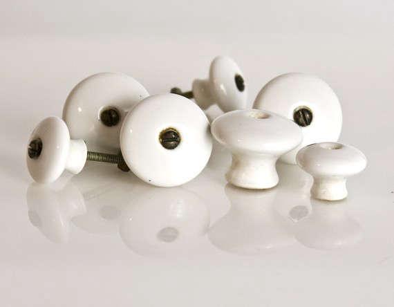 Antique Porcelain Knobs