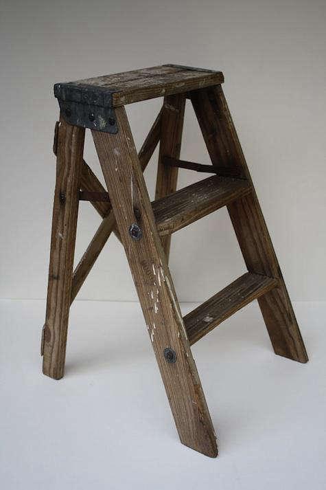 & Vintage Wooden Step Ladder islam-shia.org