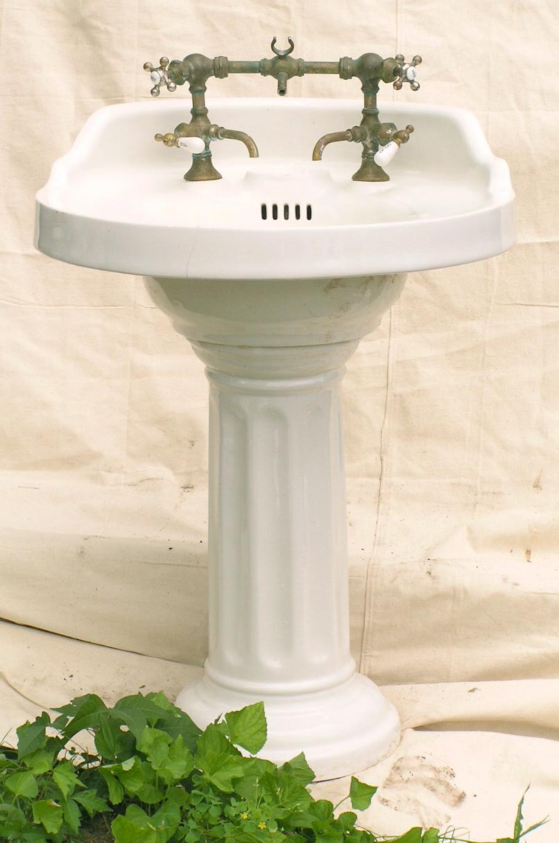 Vintage Pedestal Sinks