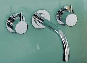 10 Easy Pieces Modern Wall Mounted Bath Sink Faucets Remodelista