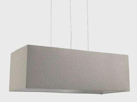 Rectangular Shade Pendant Home Design