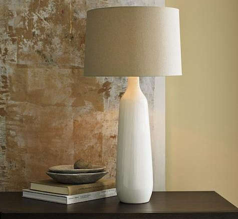 Thin Stripe Ceramic Table Lamp