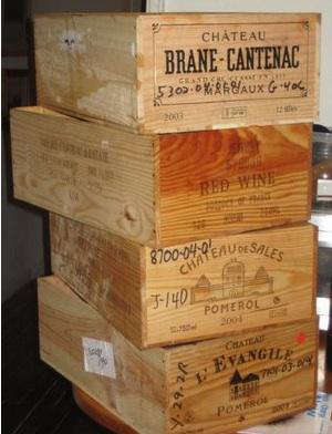 Classic Wine Crates
