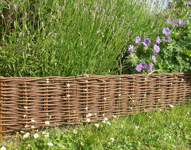 Woven Willow HurdleGarden Must Have  Woven Willow Fences and Trellises   Gardenista. Living Willow Fence Panels. Home Design Ideas