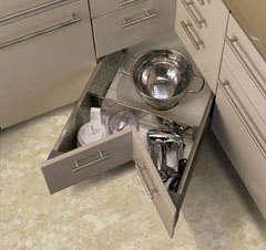 Storage: Kitchen Corner Drawers