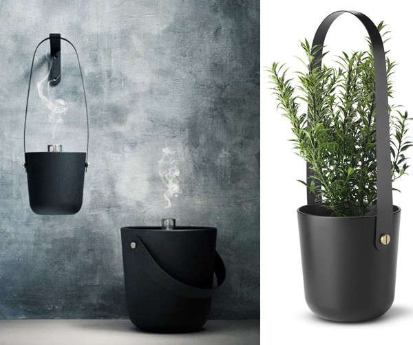 A Multipurpose Fire Bucket with Scandi Appeal