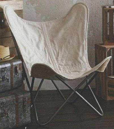 Above: The Estancia Chair With Linen Cover From Roost Is $675 From Modish  Store. CB2 Has Just Begun Offering Its Own Version Of The Butterfly Chair  For $399 ...