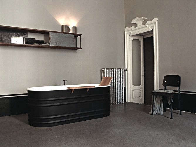 ... And Sculptural Black Bathtubs In A Variety Of Materials That Add A  Moody And Mysterious Note To The Bathroom. And Besides, According To T  Magazine, ...