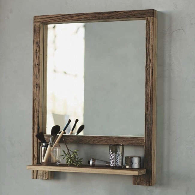 design sleuth: 5 bathroom mirrors with shelves - remodelista