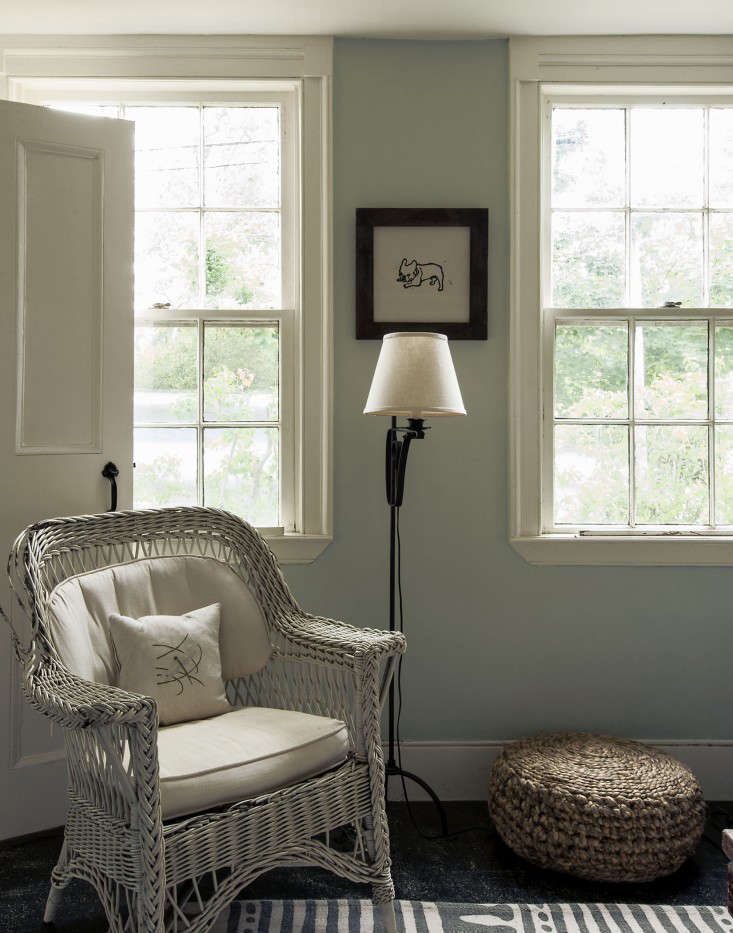 Window casings inThe Soulful Side of Old Cape Cod: Justine's Family Cottage. Photograph by Matthew Williams.