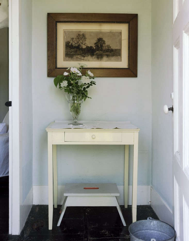 Rosa rugosa, lilac leaves, and Queen Anne's lace greet visitors inThe Soulful Side of Old Cape Cod: Justine's Family Cottage.