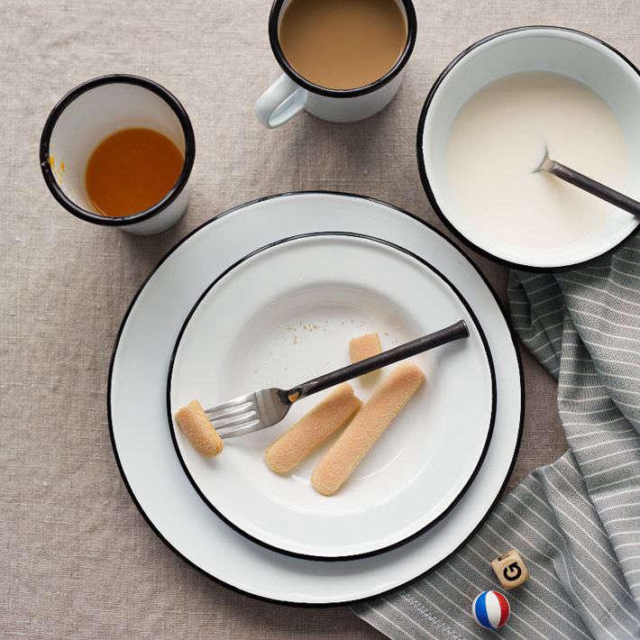 Enamelware Dinnerware Set