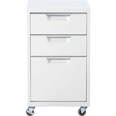 White File Cabinets