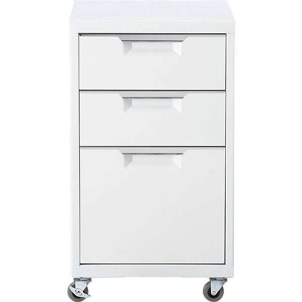 TPS White File Cabinets