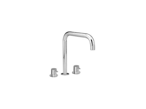 Vola Kv4 3 Hole Deck Mounted Basin Or Kitchen Faucet With Double