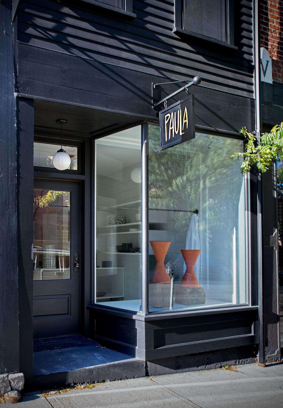 Living Above the Shop: Ceramic Artist Paula Greif in Hudson, NY - Remodelista