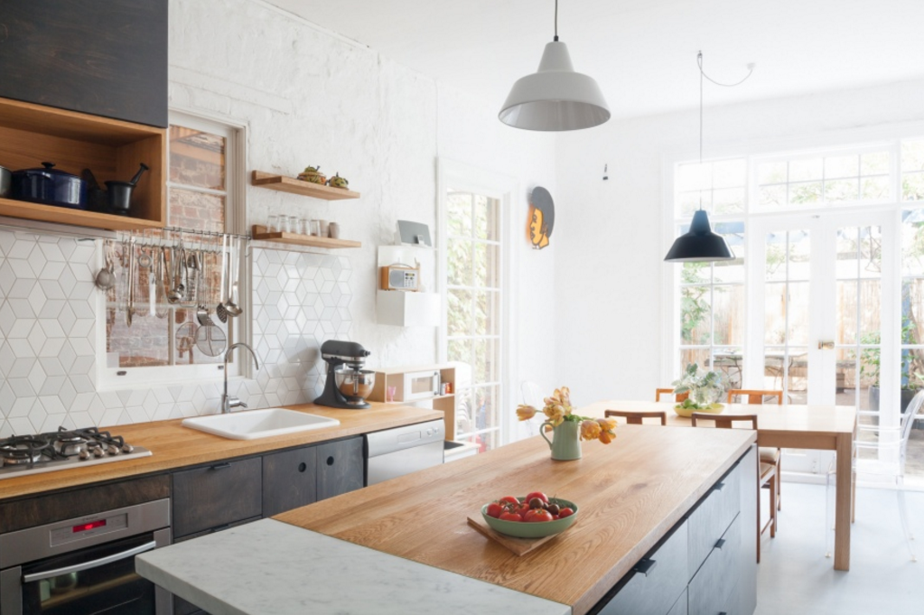 Awesome Hearth Architects Bell Street Kitchen With Butcher Block Countertops