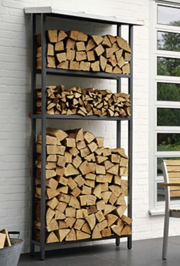 10 Easy Pieces: Firewood and Log Storage