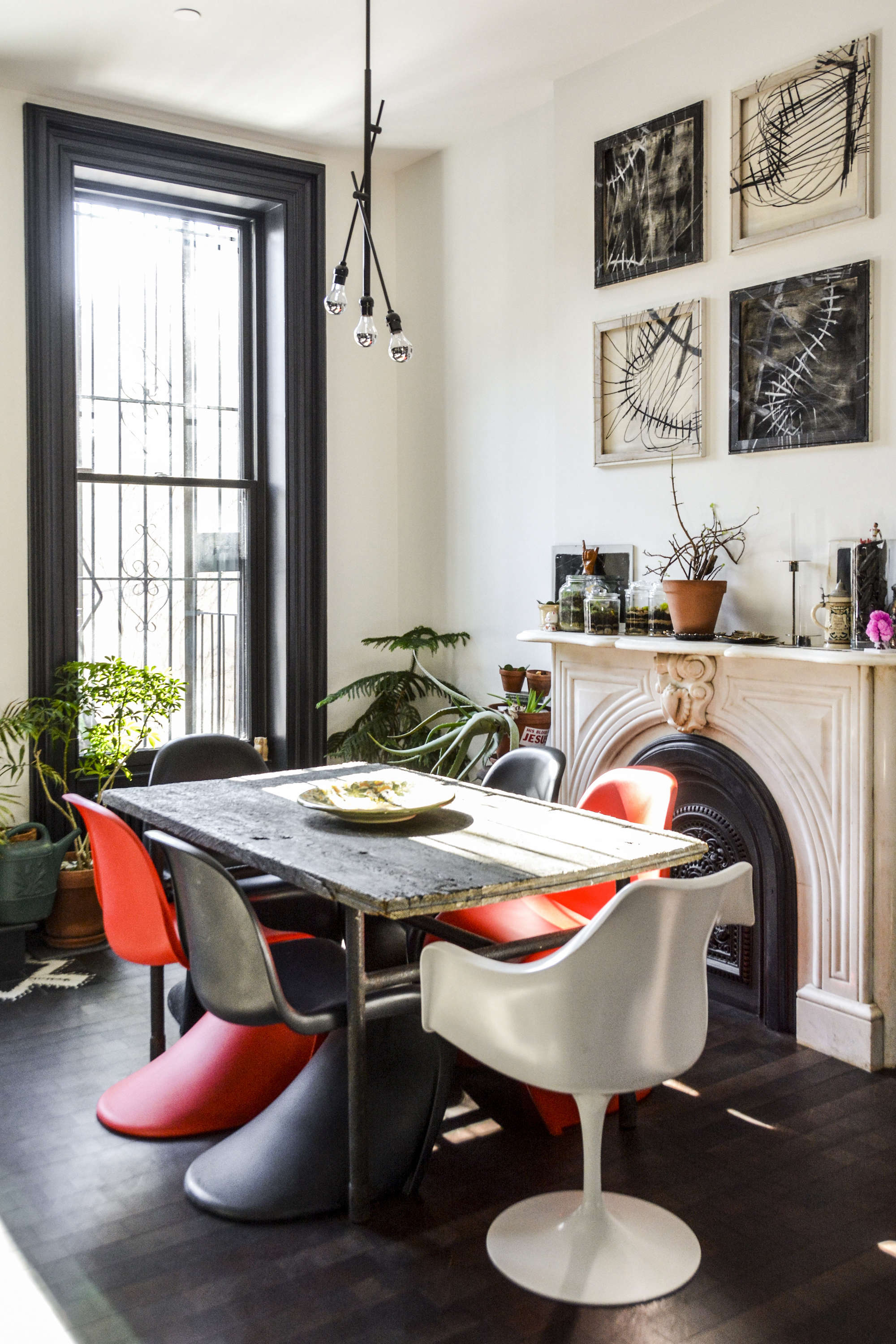 Two Young Architects Tackle Their Own Brooklyn Townhouse