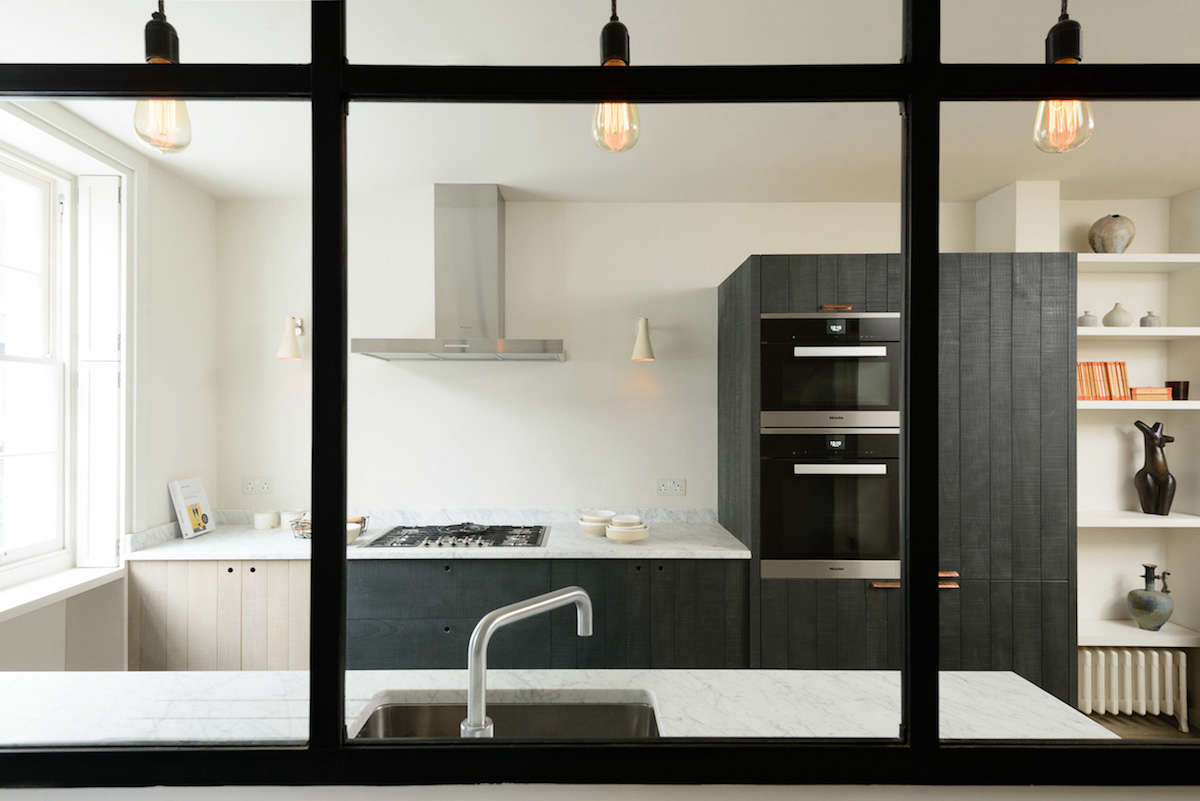 Kitchen of the Week: A Rustic-Luxe London Galley by deVol - Remodelista