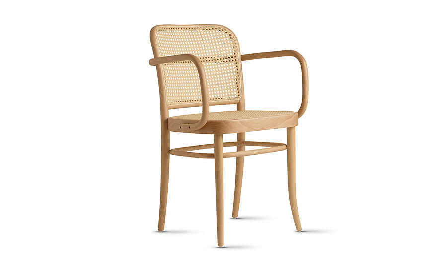 Hoffmann Armchair Caned Seat Remodelista