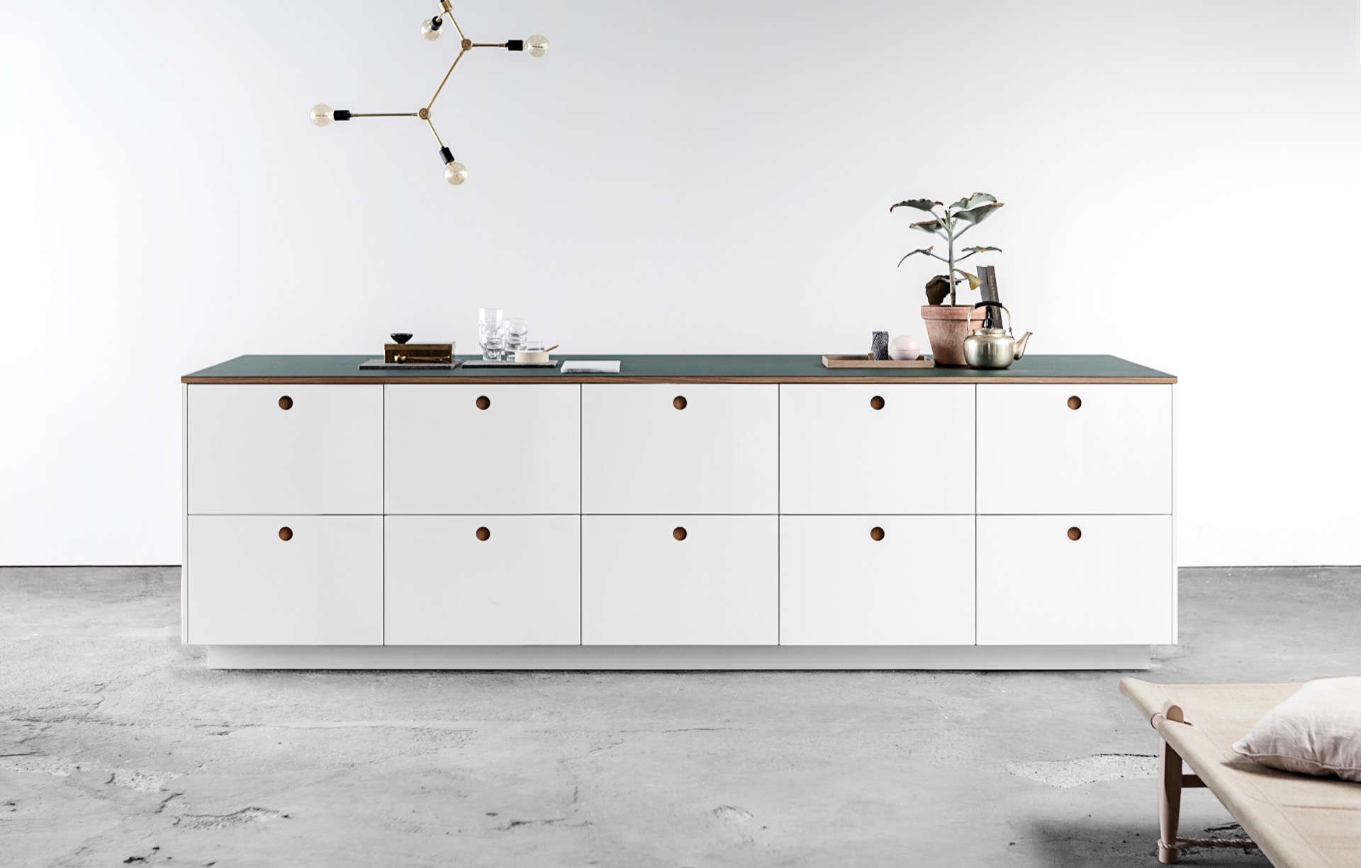 Kitchen Of The Week A Sixties Inspired Danish Ikea Hack Now Coming