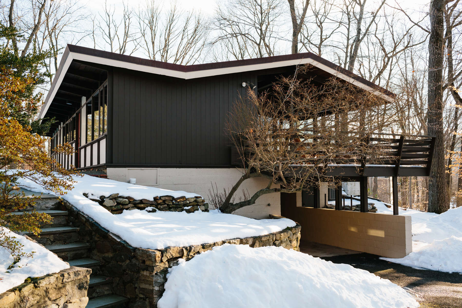 The Wood House: A Midcentury Work in Progress in Westchester ...