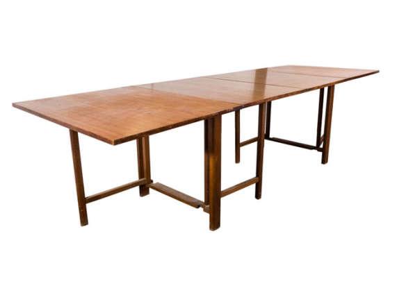 Midcentury Maria Folding Gateleg Dining Table