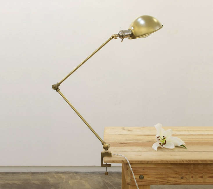 Hito Home Brass Clamp Lamp