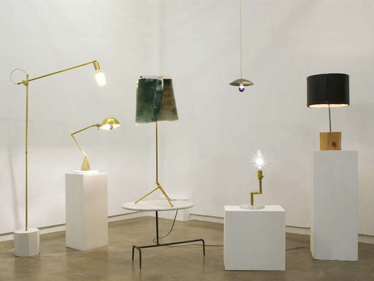 experimental brass lighting from hito home remodelista