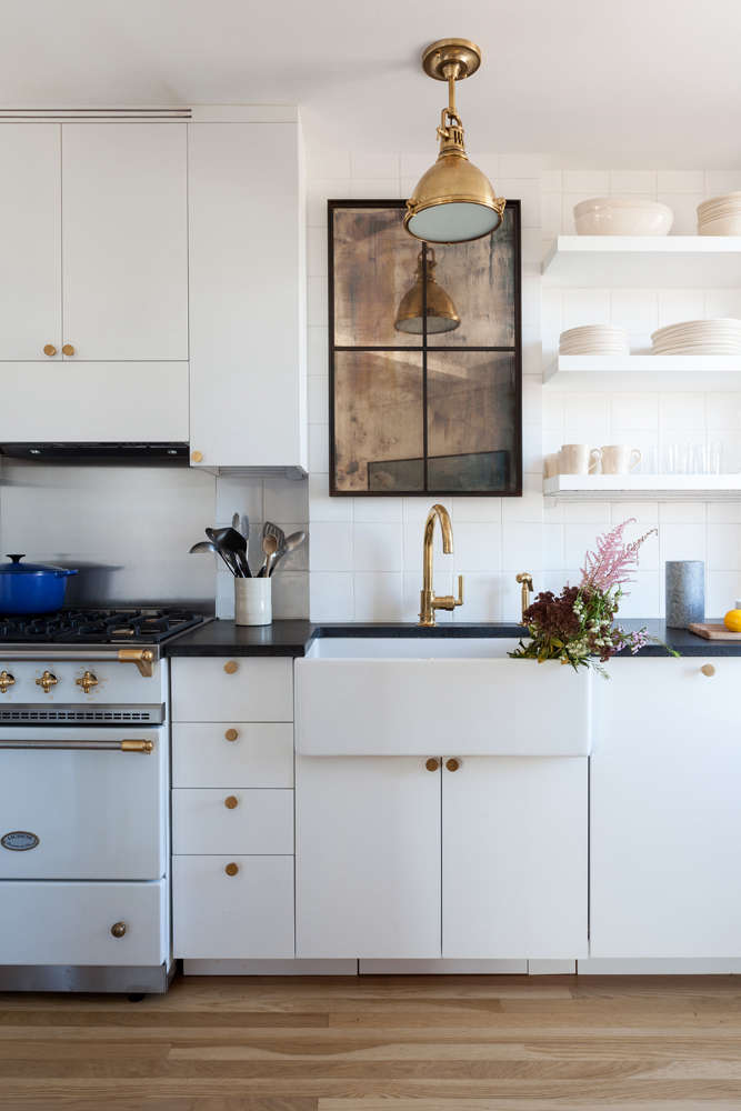 An Under Cabinet Range Hood In Kitchen Of The Week: A Small Kitchen With