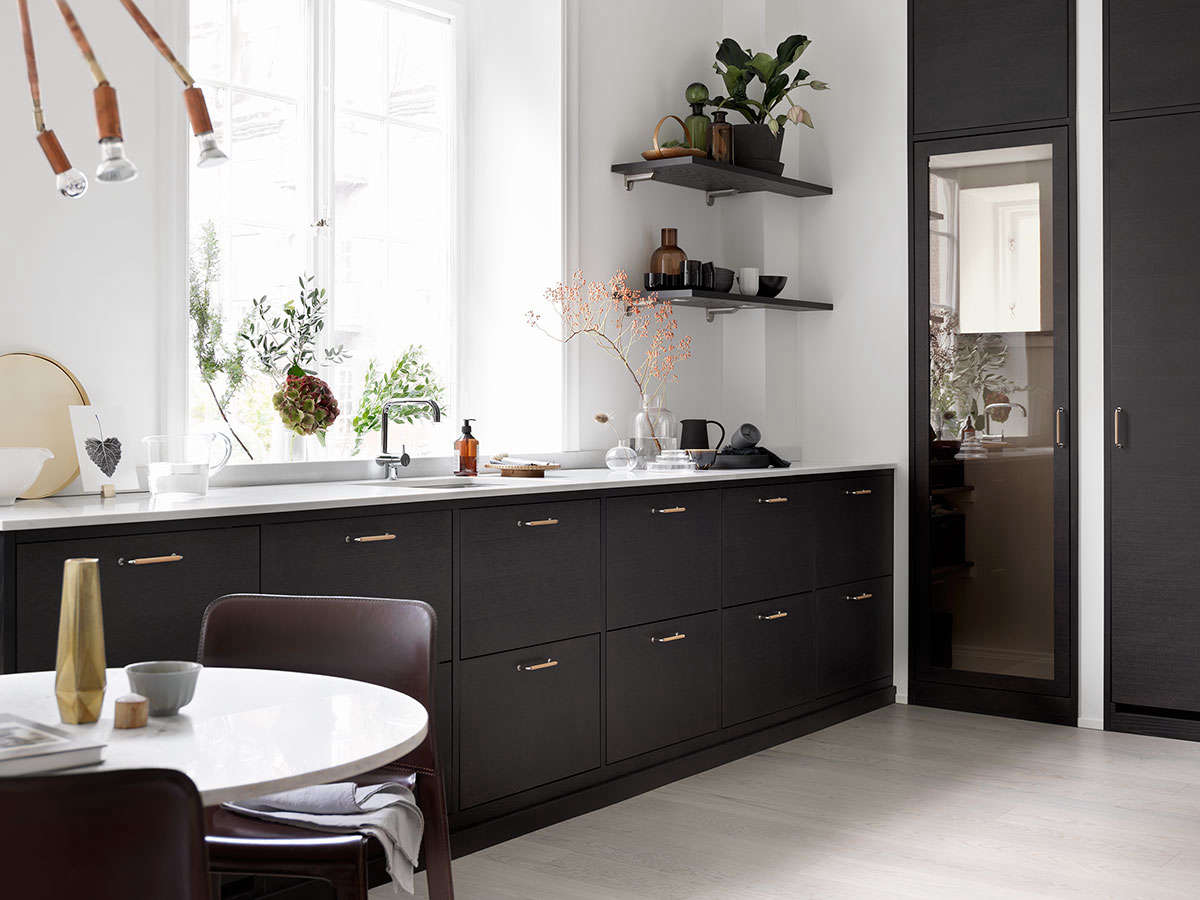 Bistro Kitchen In Ash Brown By Ballingslov Of