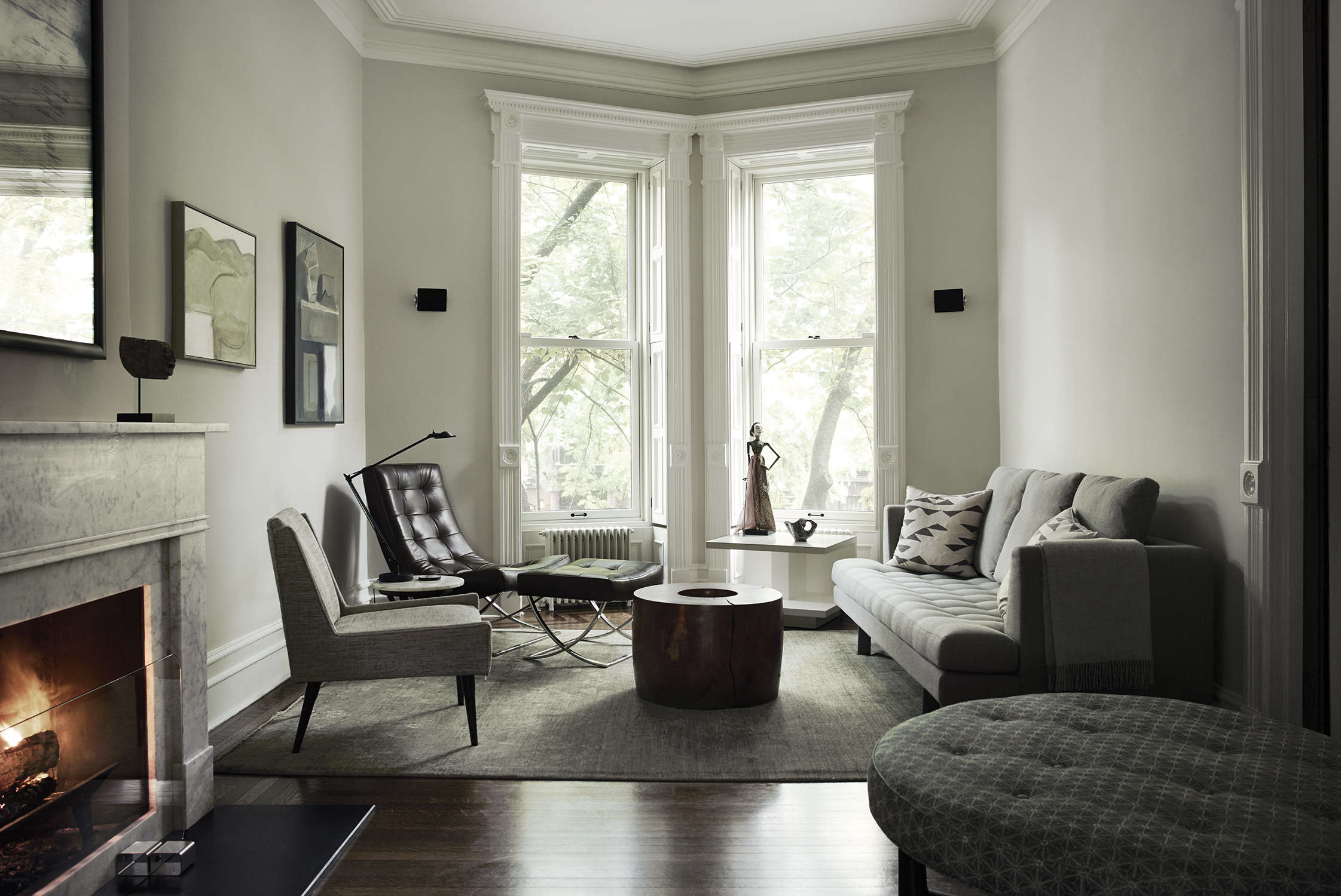 serenity now creating calm and luxe in a brooklyn townhouse