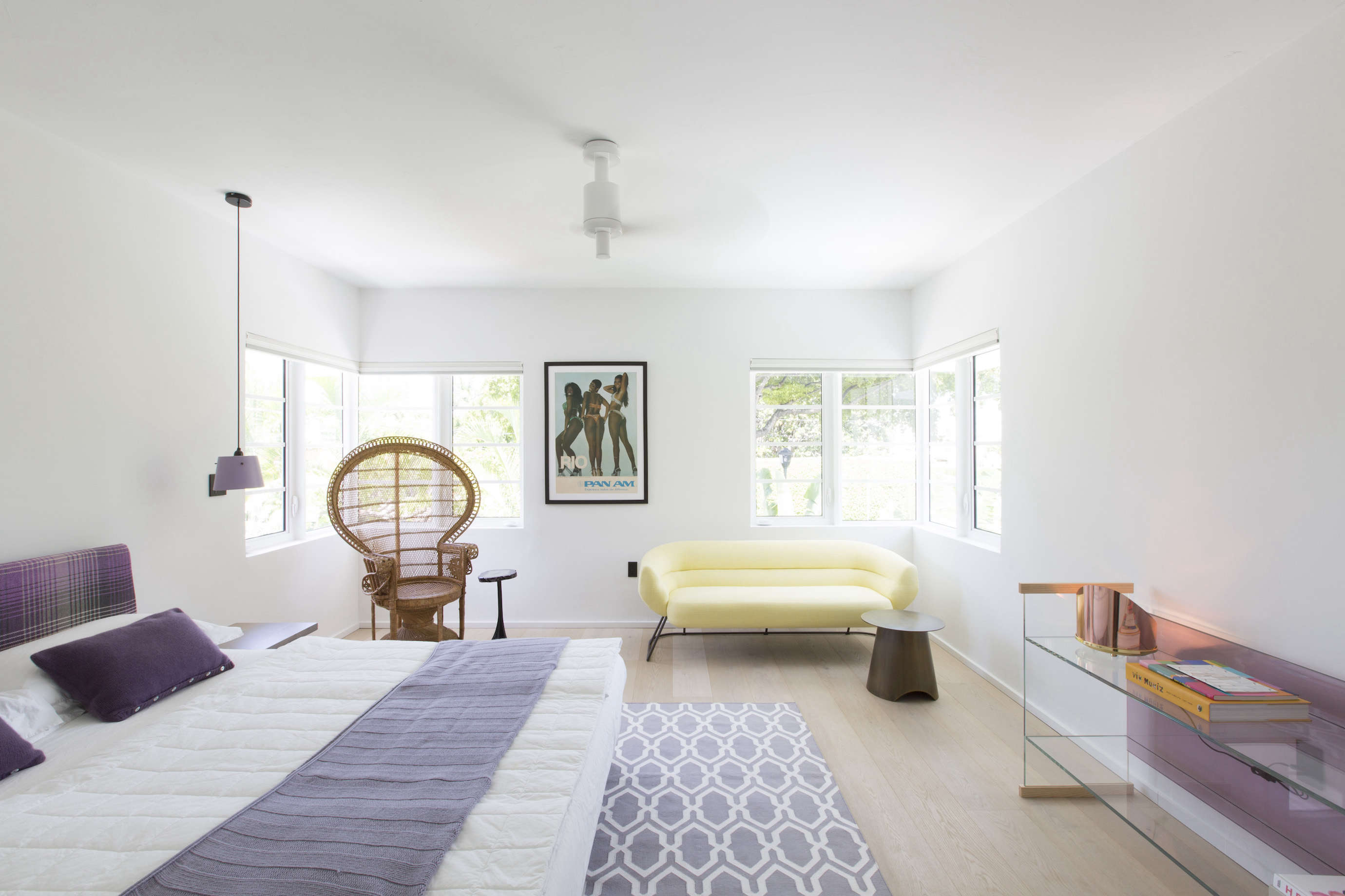 Modern in Miami: At Home with a Worldly Contemporary Furniture ...