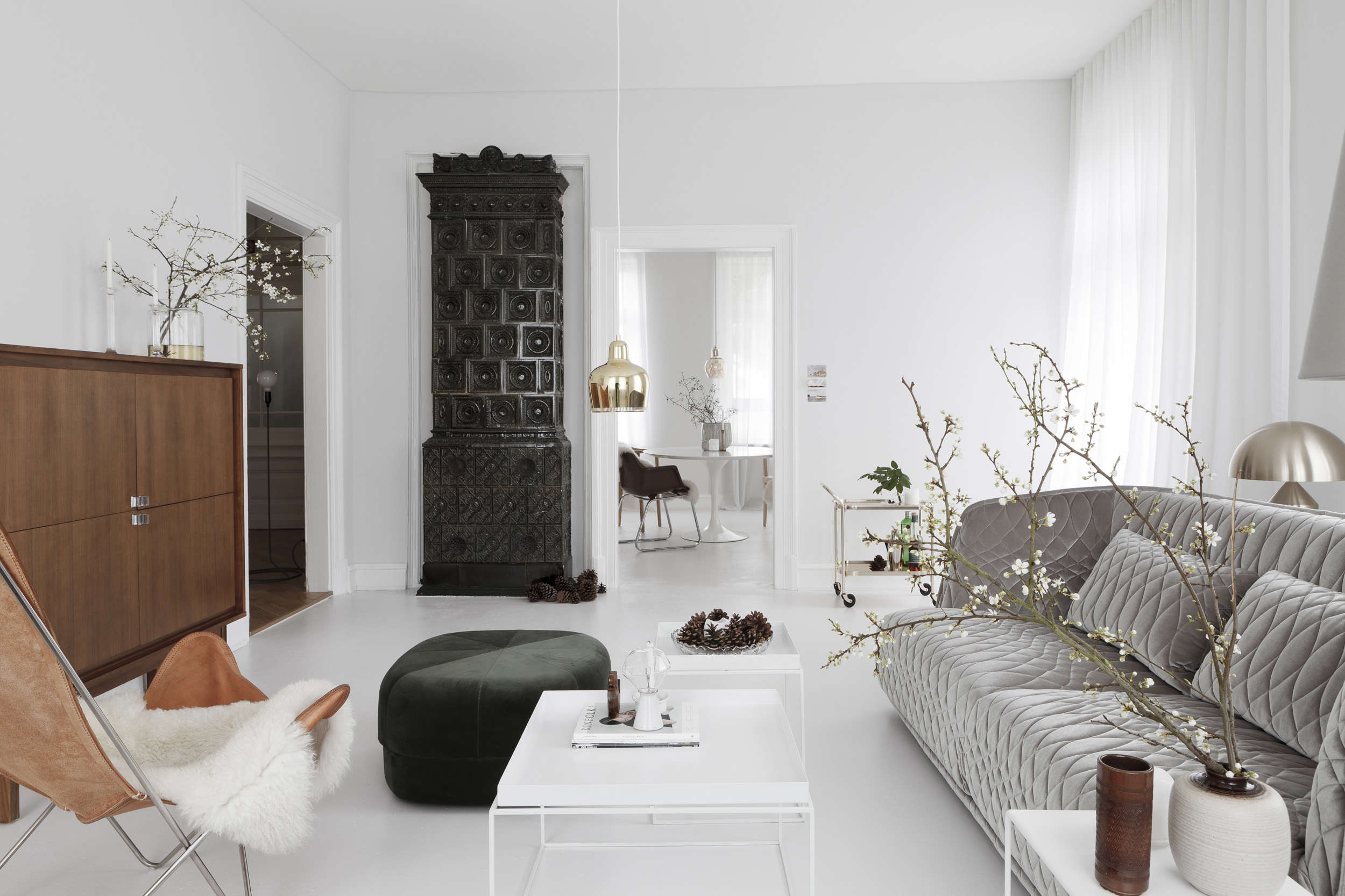 earthly and ethereal: an apartment makeoverstudio oink