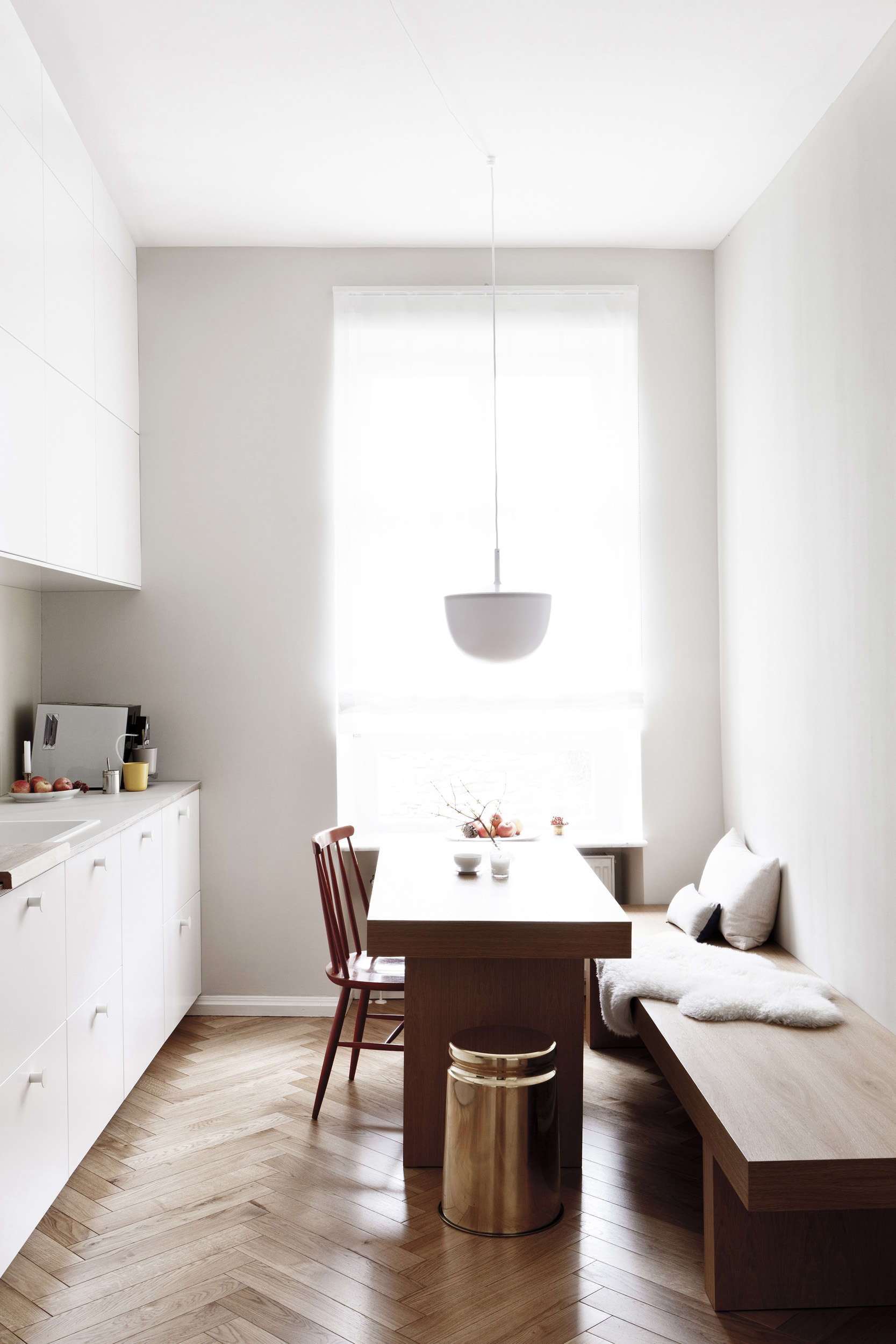 Earthly And Ethereal: An Apartment Makeover By Studio Oink   Remodelista