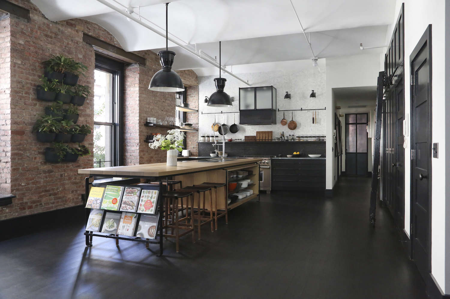 A rugged rustic nyc loft by matt bear of union studio for Kitchen remodeling nyc