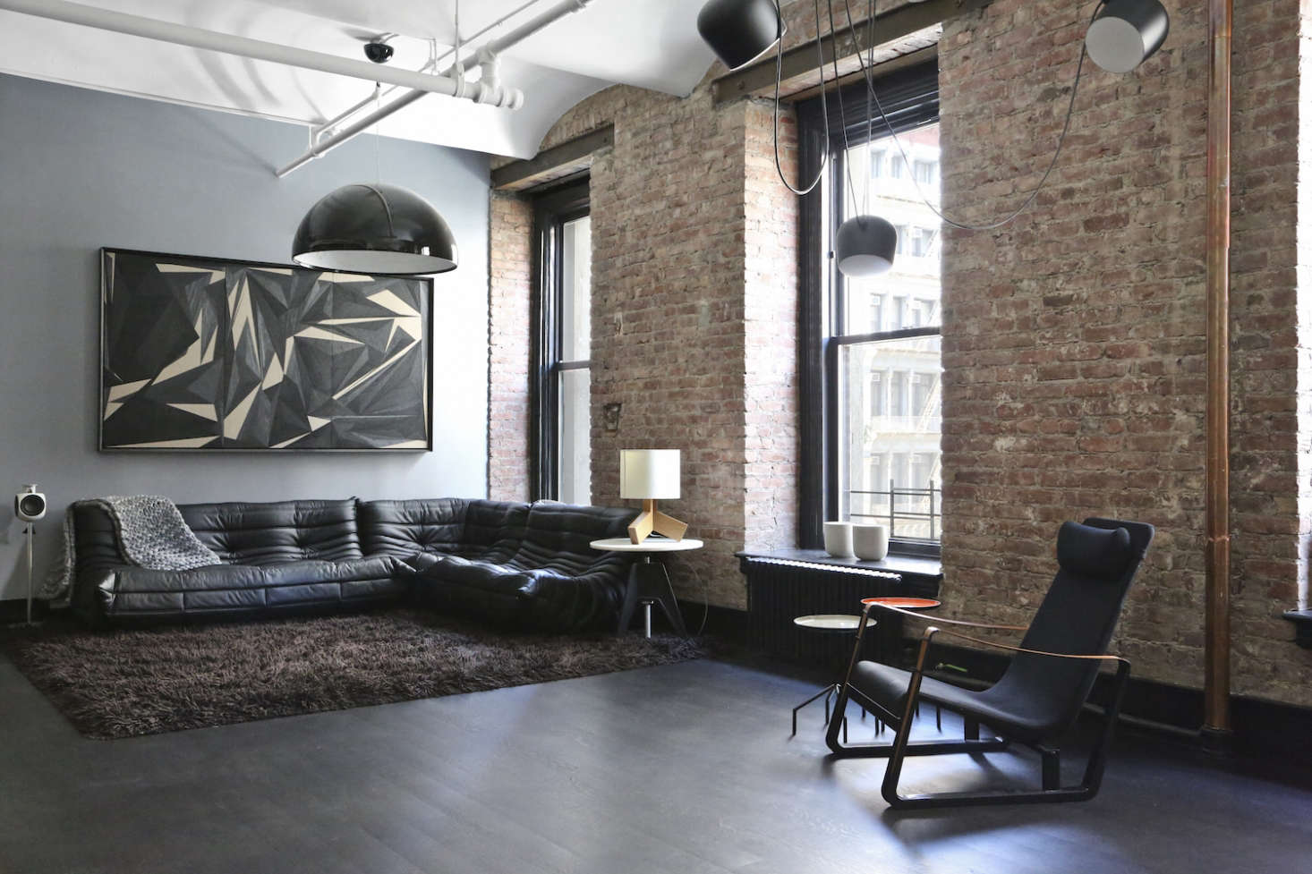 Union-Studio-New-York-Loft-living-area-Remodelista
