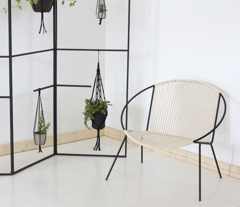 Exceptionnel Hoop Chair Rope Seat Remodelista