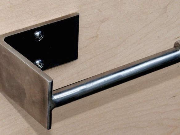 minimal modern design toilet paper holder