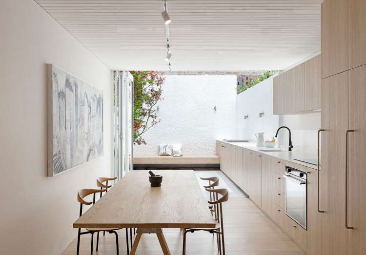 Indoor Outdoor Kitchen Design In A Remodeled House In Sydney By Benn +  Penna Architecture
