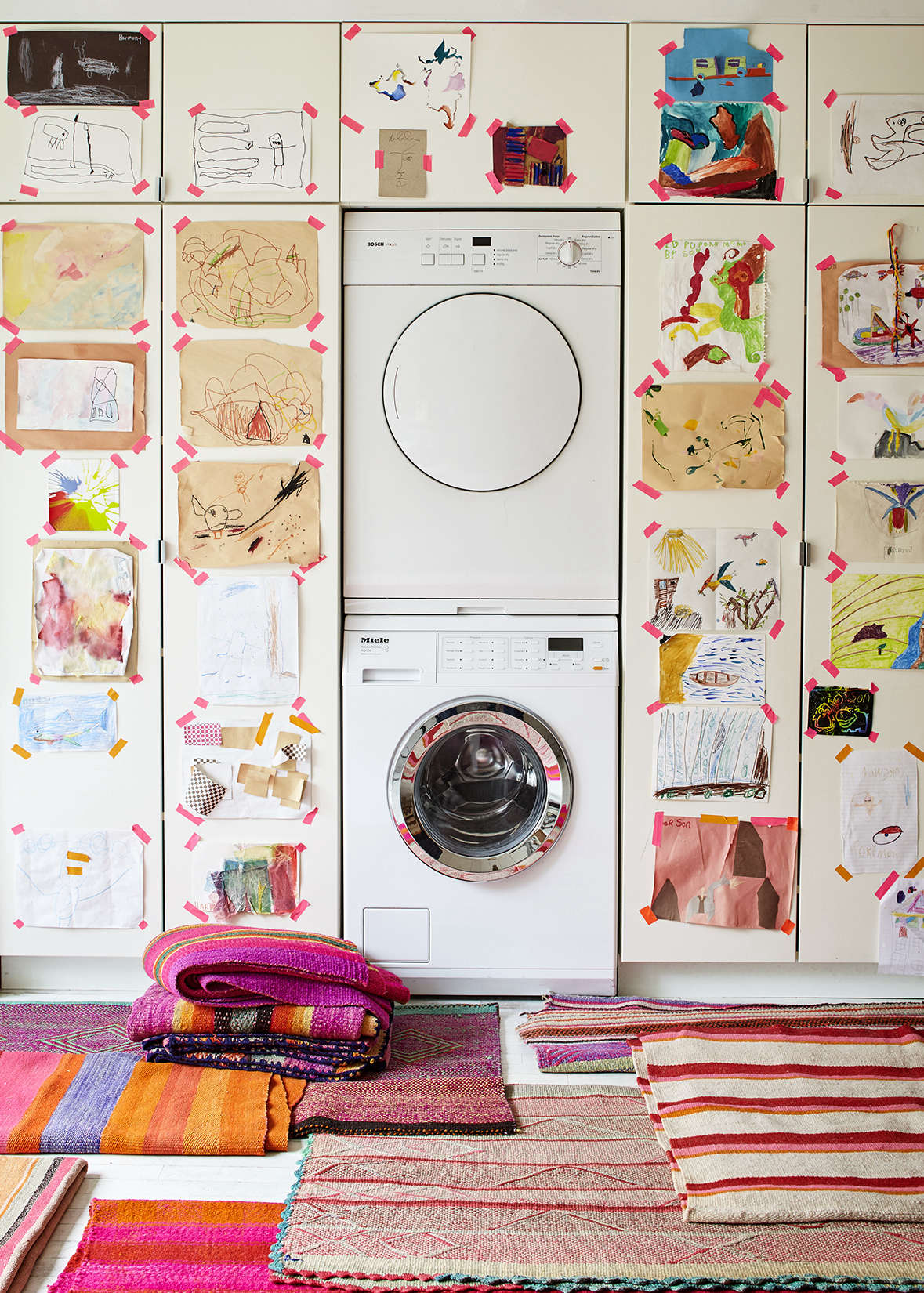 5 Quick Fixes: Clever Camouflage for the Washer/Dryer
