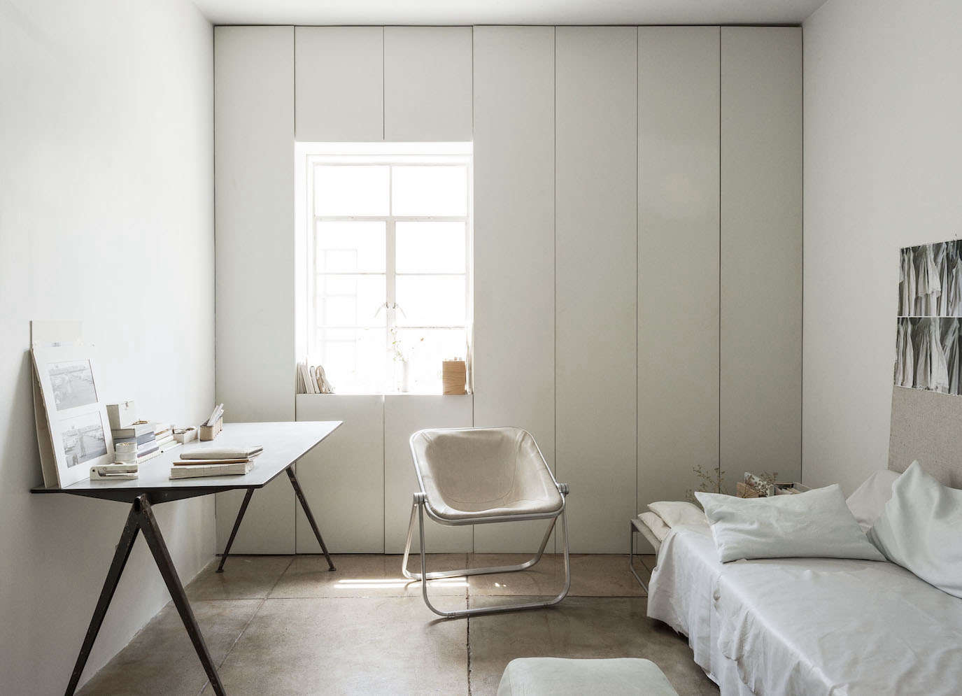 Interior Designer Michaela Scherrer Mixes Her Own White Paints, Including  The One She Used In