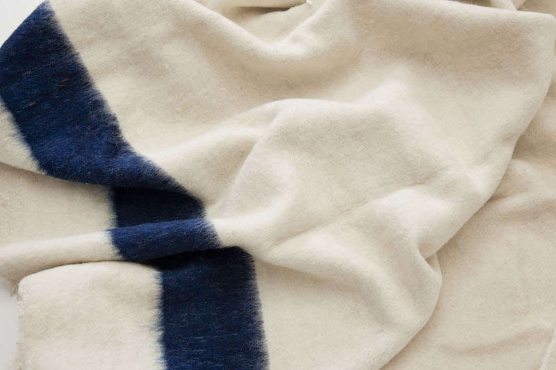 A vintage wool camp blanket from Sharktooth. 96d77d38d