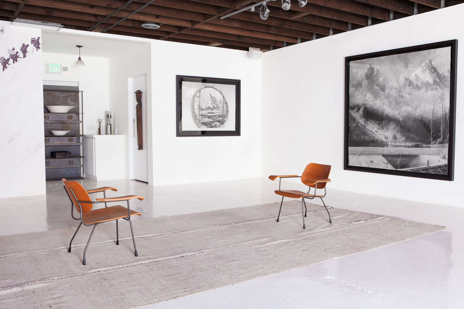 Remodeling 101 How To Revive Stained Concrete Floors Color Edition Remodelista