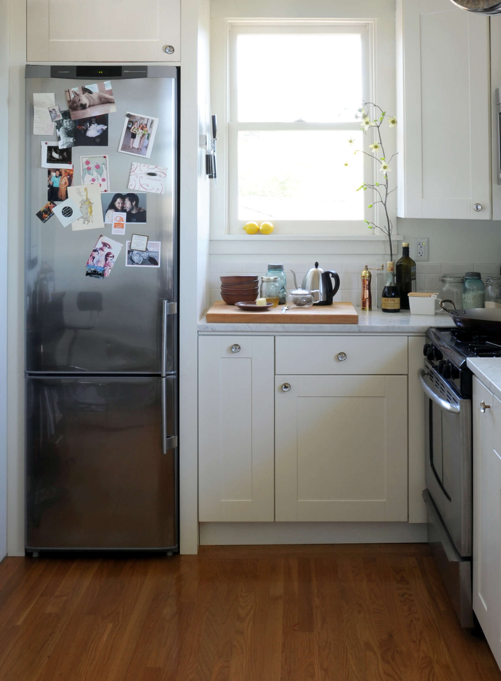 white fridge in kitchen. 10 easy pieces: best skinny refrigerators white fridge in kitchen i