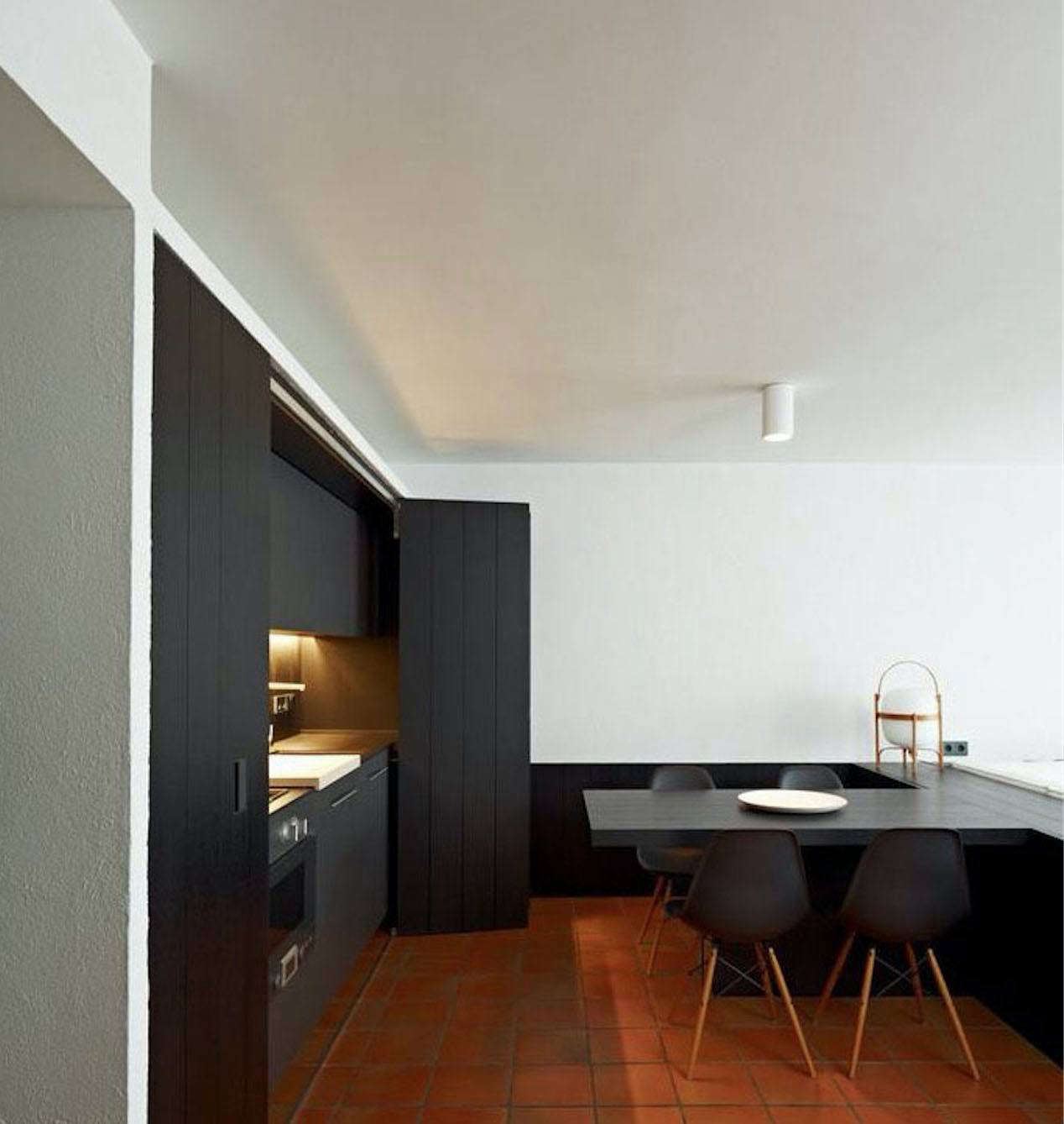 A Minimalist Kitchen In An Apartment In Cadaqués, Spain, Designed By  Francesc Rifé Studio