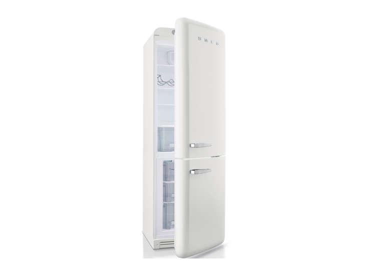 Smeg White Retro Skinny Refrigerator