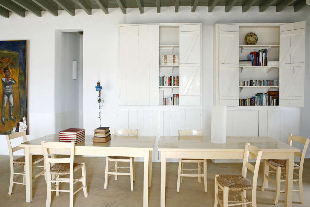 A Rustic Idyll for Four in Mykonos, Greece.